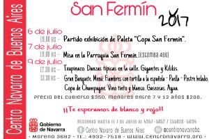 San Fermín 2017