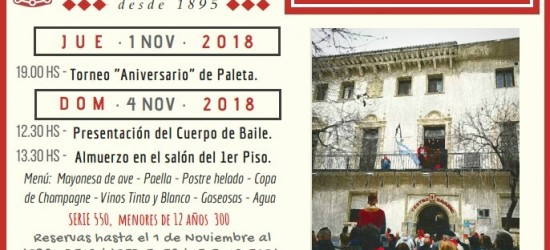 fiesta aniversario 2018 centro navarro